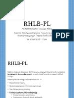 RHLB Prezentacja