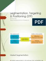 Segmentation, Targeting & Positioning (STP).pptx
