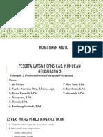 Tugas KOMITMEN MUTU (Kel.2 Puskesmas).pptx