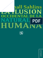 Marshall - Ilusion Occidental de La Naturaleza Humana