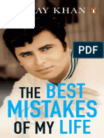 The Best Mistakes of My Life-Sanjay Khan