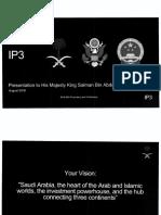 IP3 Presentation to His Majesty King Salman Bin Abdul Aziz Aug 2016