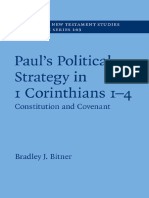 Paul's Political Strategy in 1 Corinthians 1-4 _ Volume 163. Constitution and Covenant ( PDFDrive.com )