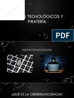Delitos Y Pirateria Informatica