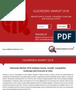 Oleoresins Market Comprehensive Analysis 2019 | Size, Share