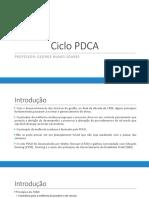 3 - Ciclo PDCA