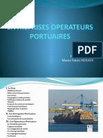 Operateurs portuaires