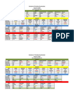 Schedule of Periodical Examination 2019 2020