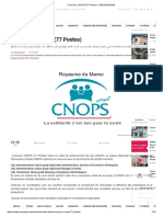 Concours Cnops (77 Postes) - Dreamjob