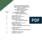 Listas PASO 2019 Adolfo Alsina
