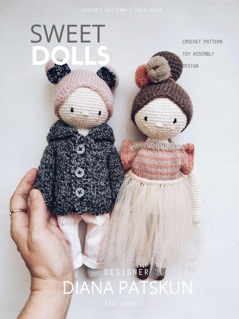 Baby giraffe crochet pattern - Amigurumi Today | 1024x768