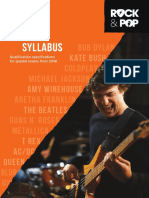Trinity R&P Bass Syllabus From 2018