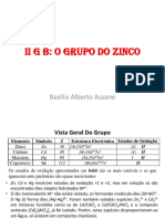 2- II G B - Grupo Do Zinco