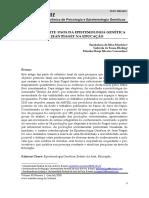 8170-Estado Da Arte Usos Da Epistemologia Genética de Jean Piaget Na Educação