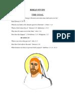Post Baptismal Bible Studies