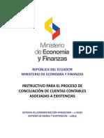 Instructivo Proceso Conciliacion Cuentas Contables Asociadas Inventarios Existencias 18-06-2019
