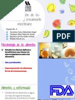 Conservacion de Alimentos y Crecimiento m