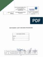 Method Statement Instrument Loop Checking QA 00 057_B
