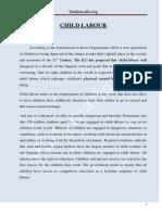 Child Labour PDF