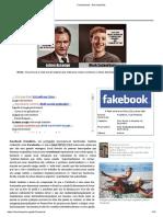 História do Facebook