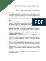 2) Cuestionario de Aplicación de La Norma ISO 45001
