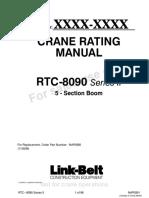 Link Belt Rough Terrain Cranes Spec 9d470b