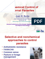 Joan Burke's Non Chemical Control of Internal Parasites
