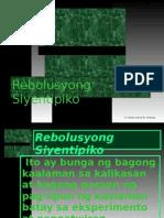 Rebolusyong Siyentipiko Powerpoint