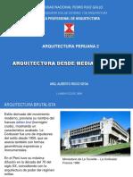 2019 Arquitectura Desde Mediados s Xx