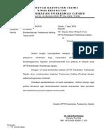 Surat Pemberitahuan Jadwal Pusling 2015