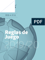 Reglas FIFA 2019/2020.