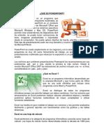 QUÉ ES POWERPOINT, EXCEL, TIPOS DE CABLES VGA, TARJEDA DE SONIDO.docx