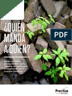 ¿Quién manda a Quién? Fondos, estándares internacionales y lucha contra la corrupción para el cumplimiento de los acuerdos climáticos
