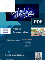 Nestle Organizational Behavior