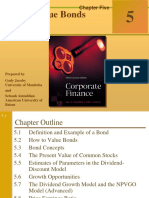Ch1 How to Value Bonds