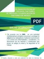Conceptos Básicos en Salud Laboral, Riesgos, Factores de Riesgos y Clasificación de Factores de Riesgo