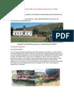 Informe de La Visita a La Facultad de Agronomía en Yotala