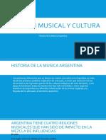 Audicion Musical y Cultura