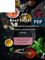 menu saludable
