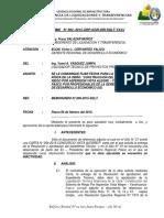 """INFORME   N° 004 - """"CONSTRUCCIÓN DEL SISTEMA DE  RIEGO POR ASPERSIÓN VISTA ALEGRE – YANAHUANCA –  PASCO"""""""