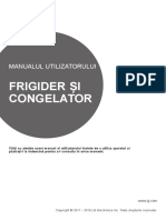 Manual frigider side-by-side LG