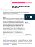 Advances in Risk-Oriented Surgery for Multiple Endocrine Neoplasia Type 2