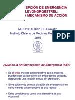 ANTICONC de EMERGENCIA Eficacia Mecanismo de Acción 2016