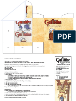 Guillotine Sleeved Tuckbox and Reference Card En