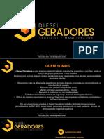 Apresentação Diesel Geradores