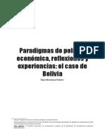 14. Paradigmas de Política Económica