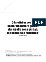 15. Sector Financiero Desarrollo Con Equidad