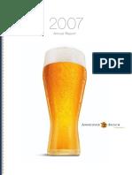 Bud07 Annual Report
