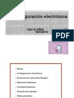 COnfiguracion electrónica