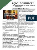 Folheto 30 de Junho - São Pedro e São Paulo